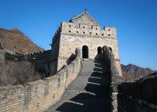 瓷极大的塔楼墙壁 免版税库存照片
