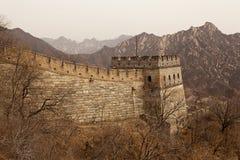 瓷极大的guardtower墙壁 库存图片