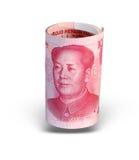 瓷查出的货币 免版税库存图片