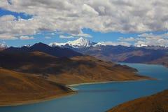 瓷横向本质西藏 图库摄影
