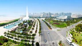 瓷横向都市的南昌 库存照片