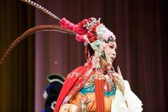瓷歌剧妇女 免版税库存图片