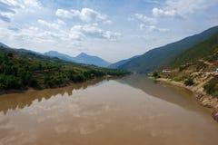 瓷河yangzi 库存图片