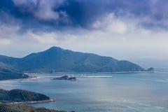 瓷海南岛公园石头 库存图片