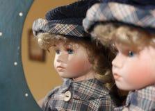 瓷玩偶 免版税图库摄影