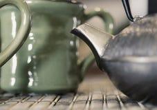 瓷界面茶 免版税库存照片