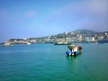 瓷的美丽的海岛 库存照片