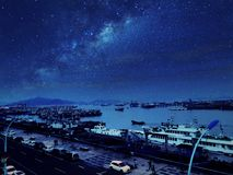 瓷的美丽的海岛 免版税库存照片