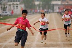 瓷短跑 免版税图库摄影