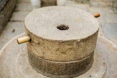 瓷石磨房 免版税库存照片
