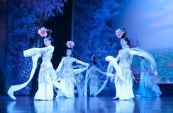 瓷舞蹈舞蹈演员马戏团 图库摄影