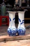 瓷花瓶 图库摄影