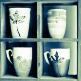 瓷茶 库存图片
