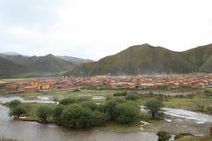瓷草原藏语 免版税图库摄影
