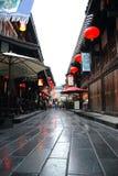 瓷街道 库存照片