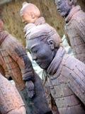 瓷赤土陶器战士县 免版税库存图片
