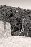 瓷长城 库存图片