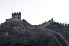 瓷长城 免版税图库摄影