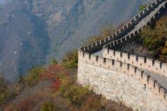 瓷长城 免版税库存照片