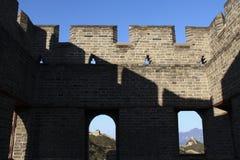 瓷长城 图库摄影