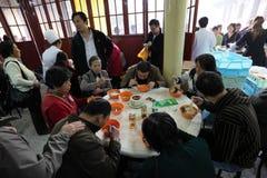 瓷餐馆上海 免版税库存照片