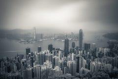 瓷香港 库存照片