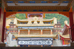 瓷,汉语,亚洲,亚洲人,东部,东部,著名,旅行,旅游业,叹气 免版税库存图片