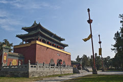 瓷dengfeng寺庙zhongyue 图库摄影