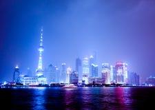 瓷pudong上海 免版税图库摄影
