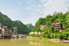 瓷zhenyuan的贵州 免版税库存照片