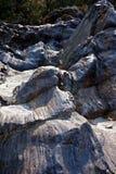 甘加岩浆石头  图库摄影
