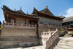 甘肃崆峒山汉语 免版税图库摄影