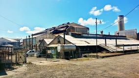 甘蔗工厂-圣基茨希尔 库存图片