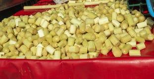 甘蔗新鲜的亚洲 库存照片