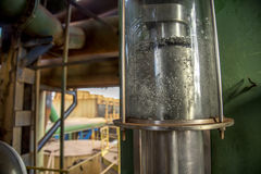 甘蔗精炼厂对氨基苯甲酸二 库存图片
