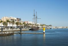 甘迪亚,西班牙港  免版税库存照片