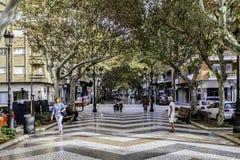 甘迪亚,巴伦西亚,西班牙 免版税图库摄影