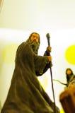 甘道夫从魔戒的字符小雕象 免版税库存图片