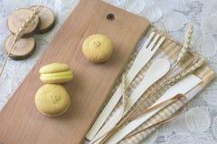 甜三明治饼干 图库摄影