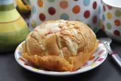 甜乳酪面包 库存照片