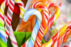 甜传统圣诞节糖果 免版税库存图片