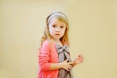 甜俏丽的女孩 图库摄影