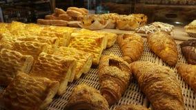 甜和鲜美面包店 图库摄影