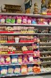 甜商店和比赛 库存图片