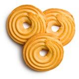 甜圆环饼干 免版税图库摄影