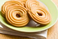 甜圆环饼干 免版税库存图片