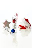 甜圣诞节装饰 免版税库存照片