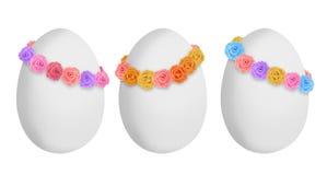 甜复活节彩蛋 库存照片
