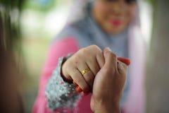 甜夫妇婚姻 库存图片