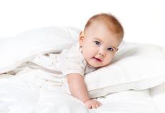 甜婴孩 免版税库存照片